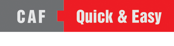 CAF - Quick and Easy Logo